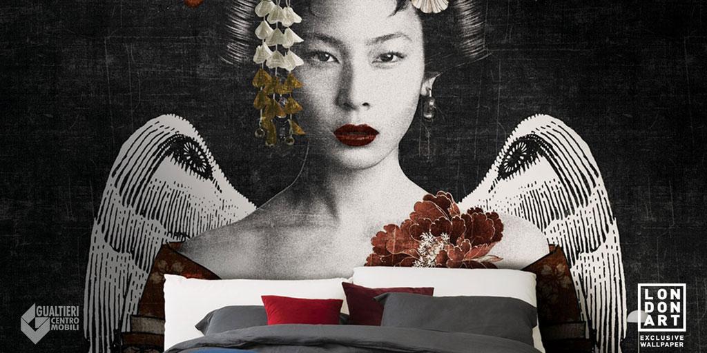 Carta da parati Londonart (geisha)