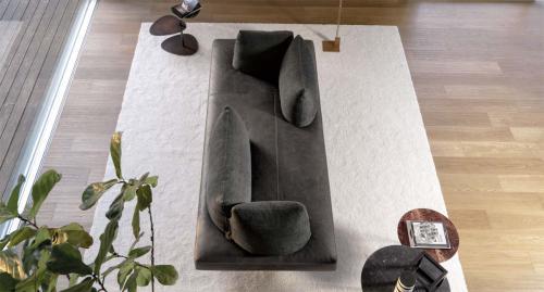 Désirée - divano modello Lovely in pelle