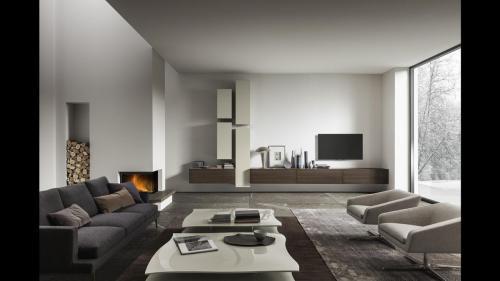Presotto - soggiorno I-modulArt composizione 346