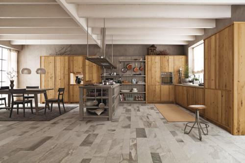 Scandola - cucina Maestrale in legno vecchio