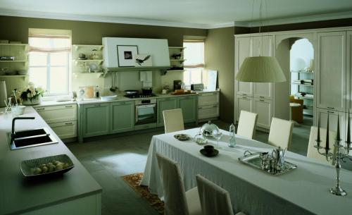 Scandola - cucina in legno Maestrale e zona giorno