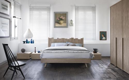 Scandola - camera da letto Maestrale in legno