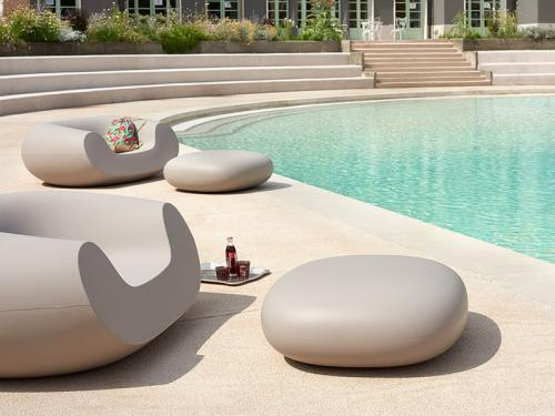 Slide pouf chubby low cover